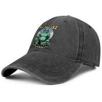 Blink Blink 182 Buddha Bunk Rock للجنسين الدنيم قبعة بيسبول تصميم خراطيم التغلب الخاصة بك في كاليفورنيا غطاء الألبوم كرابي الوحش الأرنب