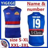 2019 WESTERN BULLDOGS GUERNSEY West Coast Eagles Guernsey Adelaide Crows Collingwood Magpies casa Eddie Betts AFL tamaño de Jersey S-3XL