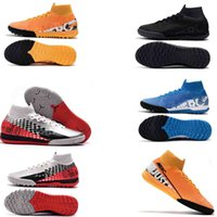 2019 New Mercurial Superfly VI 360 Elite FG XII Femmes Enfants Hommes Chaussures Crampons Football Neymar 7 Chaussures chaussures Elite Football