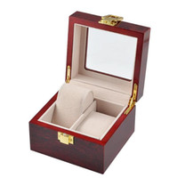 Wholesale watch glasses storage box watch bracelet box gift jewelry box wooden specifications fashion personality trustworthy
