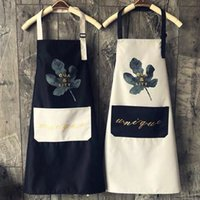 Nordic Style Cooking Kitchen Apron For Woman Men Chef Waiter...