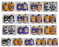 Vintage LA Los Angeles Kings Jersey 16 Marcel Dionne 19 Butch Goring 30 Rogatien Vachon 32 Kelly Hrudey 8 Drew Doughty Kopitar Retro Hockey
