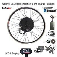 CSC E BICICLETA 48V 1500W MTB Kit eléctrico moto 20 24 26 27,5 28 29 pulgadas 700C kit de conversión frontal posterior de la bici de la rueda del cubo del motor con pantalla LCD