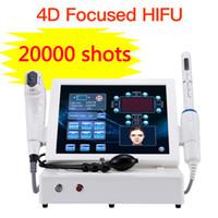 2'de 1 Vajinal Güzellik Salonu Kullanımı İçin 20000 atışlar 4D HIFU 12 Hatları Cilt Kaldırma Kırışıklık Kaldırma Terapi Güzellik Makinesi HIFU Sıkma