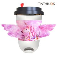 100PCS Disposable Cup Sleeve Wedding Favor Birthday Unicorn ...