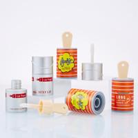 Svuotare Lipgloss tubo sveglio del Secchio a forma di bottiglia vuota Lip Gloss Tubes Lip Balm ricaricabile scatola di plastica Contenitori 8ml Viaggi Gloss