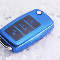 Silicone Car key case For Volkswagen Lavida Sagitar Bora C- T...