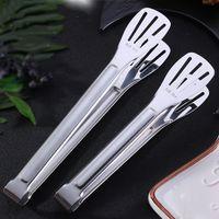 304 BBQ قضاء مطبخ قضاء قفل تصميم شوى المشبك كليب الفولاذ المقاوم للصدأ الغذاء الملاقط الشواء مطبخ ToolsT2I5919