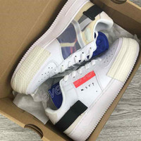2019 New Nike Air Force 1s Type N.354 Utility 1 Classic Black White Men Women Running Shoes Orange Skate Low Cut Air Trainers Designer Sneakers