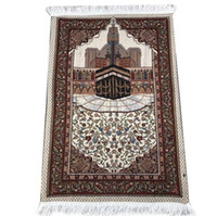 Großhandel Thin islamischen Muslim Prayer Mat Salat Musallah Gebetsteppich Tapis Teppich Tapete Banheiro Islamische Mat Beten 70 * 110cm