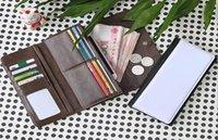 Süblimasyon için 3 adet kadın cüzdan 3-Foldable fermuar ile manyetik kapatma ile uzun çanta Isı transferi sarf