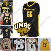 2020 UMBC Retriever Basketball Jersey NCAA College Keondre Kennedy Nathan Johnson Daniel Akin Jack Schwietz R.j. Etle-Rock Marcel Thompson
