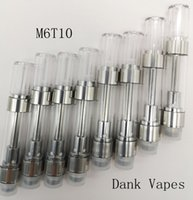 Dank Vapes Ceramic Coil Vape Cartridges M6T10 Press on Tips ...