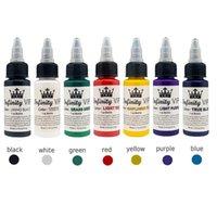 Inchiostri Tattoo 30ml Pigmento inchiostro piante naturale per il sopracciglio semi-permanente Eyeliner Body Body Arts Paint Makeup Forniture Strumenti TSLM2