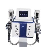 휴대용 공동 현상 RF 슬리밍 기계 한 Cryolipolysis 지방 슬리밍 기계 진공 지방 감소 냉동 요법을 알아내는 지방 냉동 기계 냉동