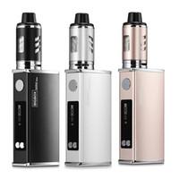 Venda quente Bigbox Min 80W 2200mAh bateria Vape Mod Box Veper nunca vazamento LED Kit de fumo Cigarros mecânicos