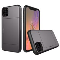 Armor Phone Cases For iPhone 11 Pro Max X XS XR Wallet Case ...