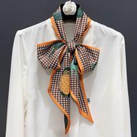 Nowy Moda Szalik Zwierząt Sowa Double Print Satin Ladies Długi Szalik Trendy Kobiety Szaliki 160 cm Gorąca Sprzedaż