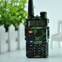 DHL envía BaoFeng walkie talkie profesional CB Radio Transceptor VHF 5W Baofeng mano UHF para la caza Radio