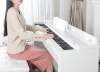 اسلوب جديد الكهربائية البيانو 88 مفاتيح مطرقة طالب ذكي بيانو الالكترونية مبتدئين المنزل الكبار البيانو الرقمية