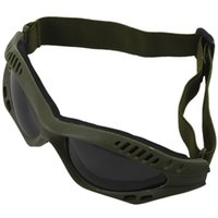 Lunettes de protection anti-rayures Paint Ball Gotcha Lunettes de protection Paint Ball Anti-rayures Olive One Size Army Green