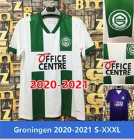 Top Quality 2021 FC Groningen Robben Jerseys 20 21 Chemises de football Deyovaisio Zeefuik Maillot Uniforme S-XXXL