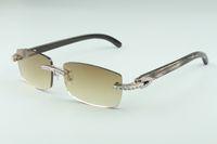 3524012-16 The Black 2021 Pattern Personalità Ultimi Diamond Sunglasses, Donne Piazza del Corno Donne Naturale e Moda Sunglass BFPCV