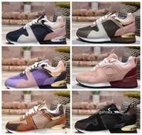 5c76f01985 2019 louis vuitton LV Shoes Luis Vuit Luxo Runway Womens Sapatos Casuais de  Couro Das Mulheres
