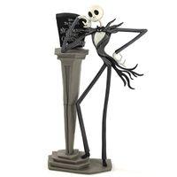 NUEVO Jack Skellington acción del PVC Figuras de Animación El extraño mundo de Jack Henry Selick 25 años Tim Burton