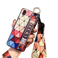 Hot Cute Rhombic bracket For iPhone X XS Max Case For iPhone...