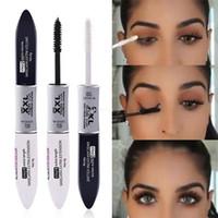 3D fibre Mascara Long Black Lash Extension des cils Maquillage des yeux Mascara Waterproof Extension Cils 3D Fibre Silk Lash outil RRA1478