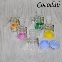 Rick 14mm 18mm Reclaim Catcher Adapters Male Oil Reclaim Gla...