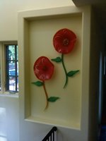 الأكثر شعبية الحديثة ديكور معلقة الإضاءة رائع نمط السقف الزجاجي الخفيفة الظل زجاج مورانو فندق جدار الإضاءة