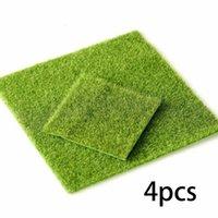Fiori decorativi corona erba artificiale erba finta prato in miniatura fata casa giardino ornamento ornamento decorativo cortile verde