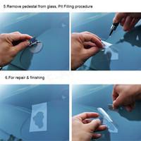 칩 균열에 대한 1PCS 자동차 앞 유리 유리 수리 키트 도구 스타 황소 도구 세트 무료 배송