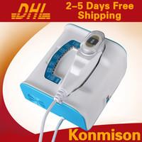 Enfocado de alta intensidad HIFU ultrasonido para estiramiento de la piel lavado de cara HIFU máquina de la belleza un cartucho 15000 disparos
