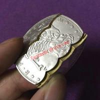 Składana moneta (Morgan Dollar, Miedź) Magiczne sztuczki, Coinmoney