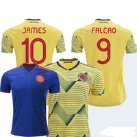 Colombia Jersey 2019 Home Away men Shirt 10 JAMES 9 FALCAO 1...