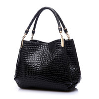 2018 Designer Handbag Womens Leather Handbags Alligator Shou...