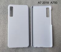 Cas d'impression 3d de sublimation pour Samsung A10 A20 A30 A40 A70 A3 J4 J6 J7 A3 A5 A6 plus A7 A8 A9 2018 2019 mat blanc bricolage 100pcs