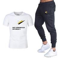 I più nuovi completi sportivi Pantaloni jogger T-Shirt Pantaloni sportivi Tuta da allenamento Marca designer Uomo Tute Palestra Fitness Tute Set streetwear