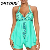 Sexy Swimsuit Women 2018 Summer Beachwear Halter Lace Swimwe...