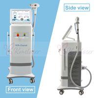 máquina de depilación rápida de alta calidad láser de depilación permanente dispositivo doméstico máquina 808nm diodo láser con el uso de crema salón