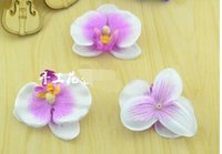 Wholesale 7cm Multicolor Simulation butterfly orchid Flowers...