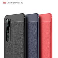 Anti-Fall Phone Cases For Xiaomi Mi 11Pro 11 Lite 10 Pro 10T Lichee TPU Protective Shell On Redmi Note 10s 10Pro 9T 9s 9Pro 8T 8Pro