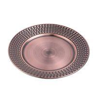 28 centimetri in acciaio inox Piatti Piastre Lace riutilizzabile Frutta Vassoio Mostra Cucina strumento tableware vendita calda 11 4HF UU