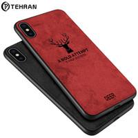 Nueva funda de teléfono móvil para Apple iphoneXR xs max 6/7 / 8plus TPU + cuero Elk Creative cubierta protectora