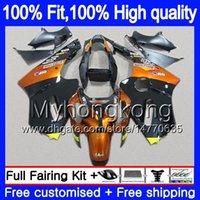 Iniezione OEM per Kawasaki ZX 12R ZX1200 1200cc 2002 2003 2004 2005 2006 Luce arancione 224MY.66 ZX 12 R ZX12R ZX12R 02 03 04 05 06 carenatura