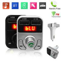 B3 핸즈프리 무선 블루투스 차량용 FM 송신기 AUX 변조기 차량용 키트 MP3 플레이어 SD의 USB 충전기 자동차 액세서리 MQ50