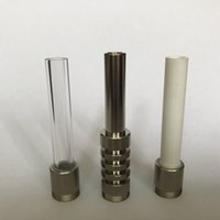 510 Quartz Dicas 510 Titanium cerâmicos bangers Dicas Nails para Water Pipe Smoking Pipes Dab Rig Micro Nc cachimbo Acessórios